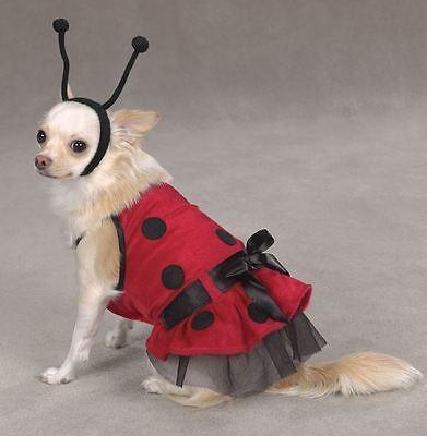 Casual Canine Lady Bug Halloween Dog Costume Parade Mardi Gras XS Female