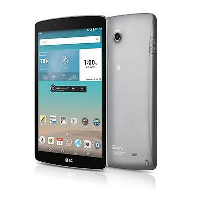 """LG G Pad F V495 8"""" 16GB 4G LTE Wi-Fi Android GSM AT&T Unlocked Tablet N/O"""