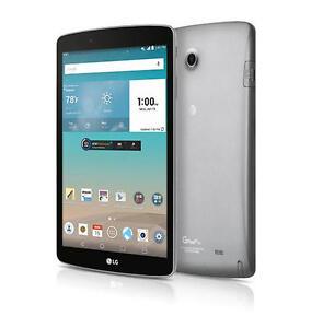 """LG G Pad II F V495 8"""" HD 16GB 4G LTE Wi-Fi, Android GSM AT&T Unlocked Tablet N/O"""