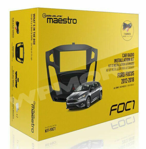 iDatalink Maestro Dash KIT KIT-FOC1 for Ford Focus 2012-2018 with All Trims