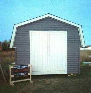 Taking orders for Sheds and Garages...