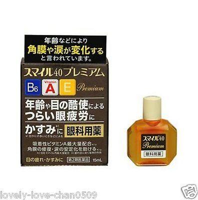 Lion Smile 40 Premium Eye Drops 15ml JAPAN