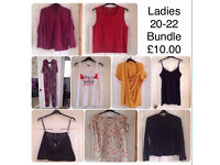LADIES CLOTHING BUNDLE ~ SIZE 20-22