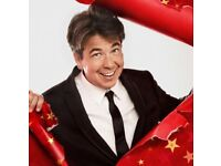 4 x Michael McIntyre tickets for Sunday 4th Plymouth Pavilions