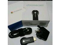 Google chromecast boxed