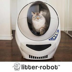 NEW OPEN AIR AUTOMATIC CAT BOX RB-LTR-67 139669777 LITTER ROBOT III SELF-CLEANING TIMER LIGHT LITTER BOXES CATS SUPPL...