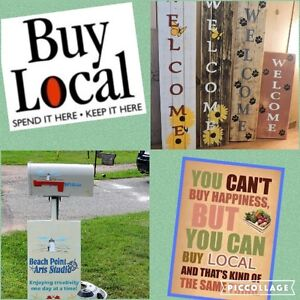 OUTDOOR WELCOME SIGNS for Sale