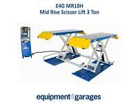 Brand New - Scissor Lift Mid Rise 1 Metre Lift with 3Ton Capacity E4G MR10H