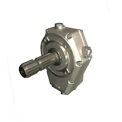Hydraulic Series 60000 Pto Gearbox Group 2 Male Shaft Ratio 138 With Oil Lev
