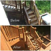 Offering Free estimates on all painting or staining needs