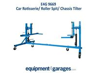 Brand New Car Rotisserie Rollover Spit, Chassis Tilter E4G 9669