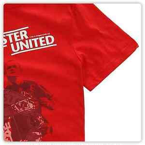 Official Manchester United Wayne Rooney T Shirt