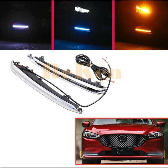 LED DRL Daytime Running Light Fog lights(3 colors) For ...