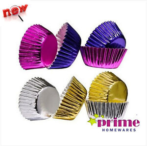 Mini-Cupcake-Cases-100pcs-Paper-Foil-Coated-In-2-Colours-Bargain