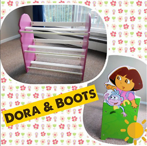 Nick Jr. Dora the Explorer 3-Tier Toy Organizer (O.B.O)