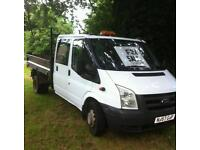 Ford Transit 57 plate Cab Tipper