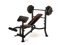 ADIDAS STRENGHT BENCH WITH 45KG