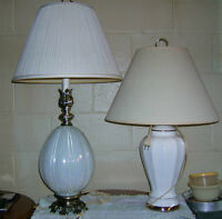 Two living room lamps