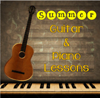 Summer Guitar & Piano Lessons