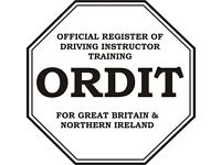 ORDIT Registered Driving Instructor Training and New Check Test Training