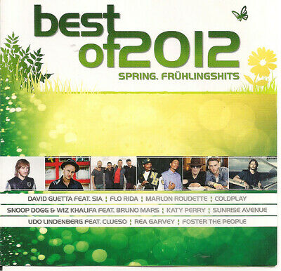 2 CD Katy Perry,Eisblume,Taio Cruz `Best of 2012 - Spring Frühlingshits