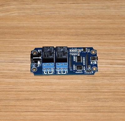 2 Channel Usbwireless Timer Relay Module -xbee Bluetooth Wifi Extension