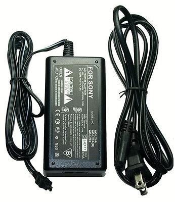 Ac Adapter For Sony Hdrux3 Hdrux3e Hdr-ux5e Hdrux5e Dcrsx45le Dcrsx45re