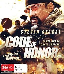 Code of Honor Blu-Ray (Brand New)