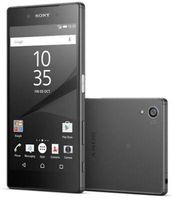 New 5.2'' Sony XPERIA Z5 E6653 4G 32GB 23MP (GSM Unlocked ) Smartphone Black