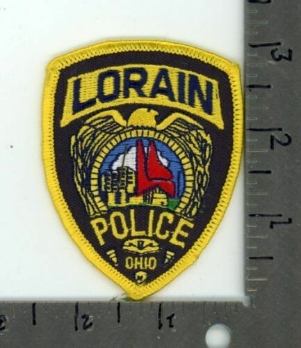 OHIO OH LORAIN POLICE NEW PATCH SHERIFF CAP SIZE