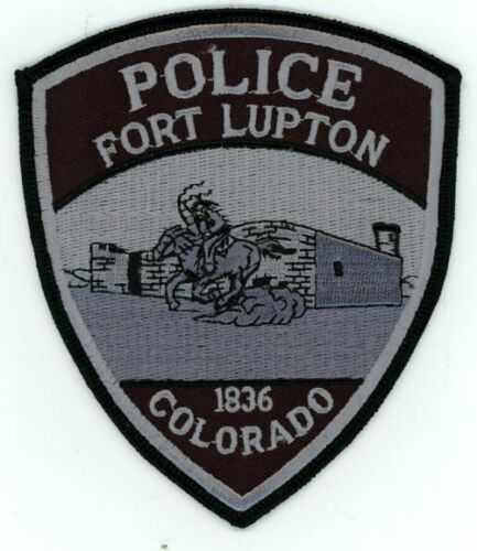 FORT FT LUPTON COLORADO CO POLICE SWAT SUBDUED PATCH SHERIFF