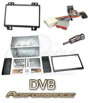 Ford Fiesta MK6 2002-2005 Double Din Car Stereo Facia Fitting Kit