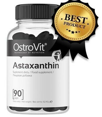Immune 90 Caps - Astaxanthin 12mg for healthy heart & immune system OstroVit Antioxidants 90caps