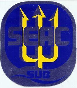 ADESIVO-Vintage-STICKER-SEAC-SUB-ANNO-1992