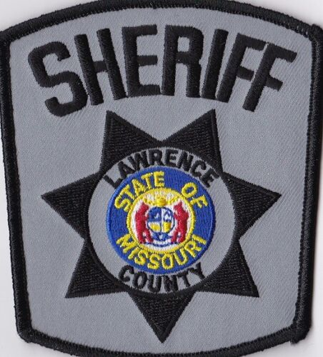 Lawrence County Sheriff Missouri MO Police patch