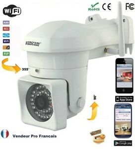 Cam ra de surveillance ext rieur ip ir wifi sans fil for Camera exterieur sans fil