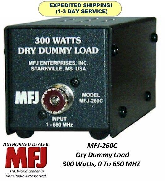 300W Dummy Load For Amateur Ham, CB and 2 Way Radio MFJ-260C