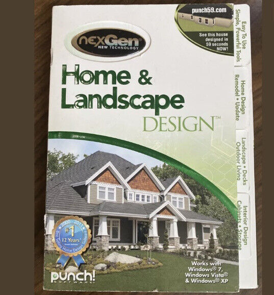 Punch Home & Landscape Design (PC) Open Box. * Free Shipping