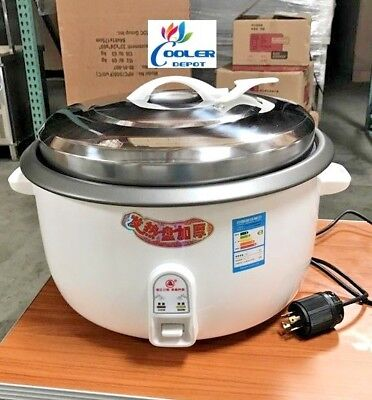 New 55 Cup Commercial Rice Cooker Warmer Cooler Depot Model Cup55 220v