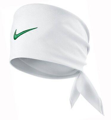 b30ddc0816b Nike Tennis Swoosh Bandana White   Court Green Federer Rafa Nadal 411317-107