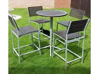 Patio table and chairs (delivery available)