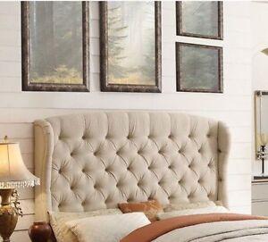 NEW king size headboard - Felisa Upholstered Panel Bed