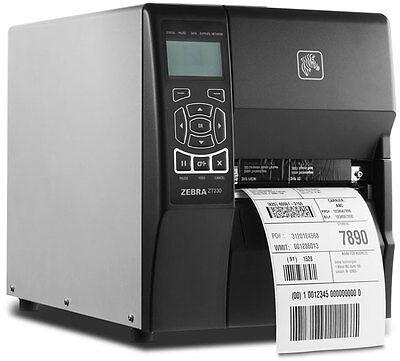 New Zebra Zt230 Thermal Transfer Usb Serial Label Printer Zt23042-t01000fz