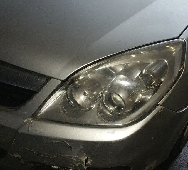 Vauxhall Vectra N/S Headlight Breaking For Parts (2007)