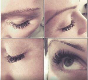 Eyelash extensions $50