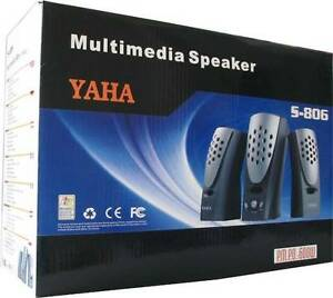 Yaha 2.1Ch Multimedia Subwoofer Speaker PC, MP4,TV, DVD Audio Silverwater Auburn Area Preview