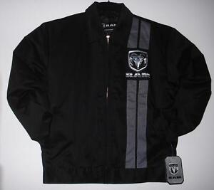 Size M AUTHENTIC  DODGE RAM RACING MECHANIC PRINTED JACKET MD