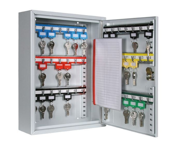Schlüsseltresor Schlüsselschrank Schlüsselkasten Metall 20 bis 300 Haken Safe