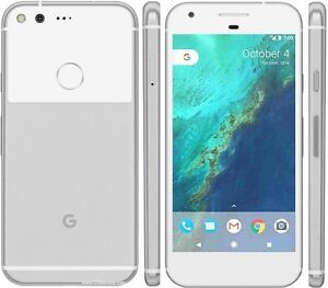 Google Pixel XL 128 GB with case ROGERS