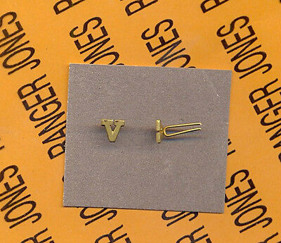 "US ARMY ""V"" VALOR Ribbon medal citation device"